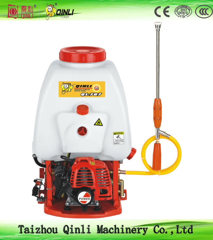 Hot sale and high quality QL-767 knapsack power sprayer/708