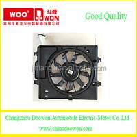 Changzhou Doowon Auto Parts Car cooling radiator fan 25380-1Y030
