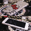 ZG Huashi Factory Full Diamond Case for iPhone 5 5s 6 6plus 7 7plus,Cute Designs Mobile Phone Covers