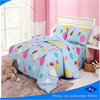 baby garden bule bedding fabric/cute printing peach skin fabric/bedding sheet fabric
