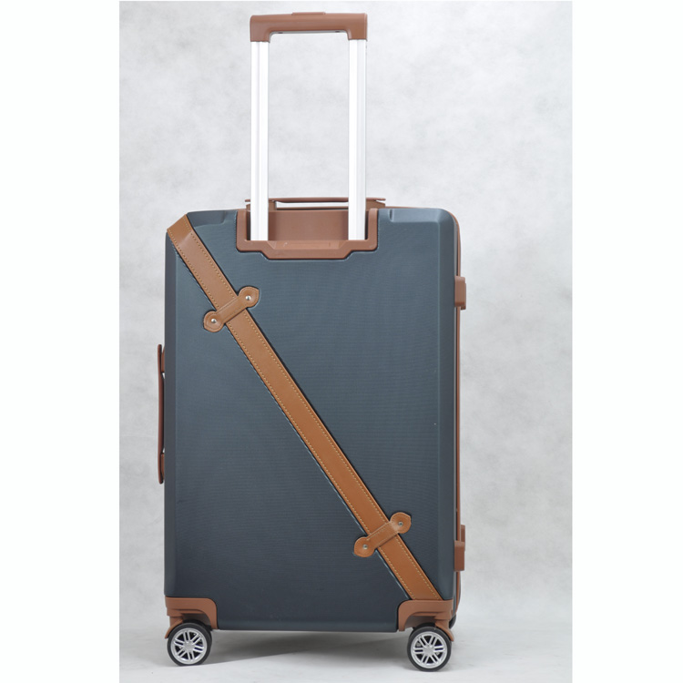 ABS material vintage luggage vintage ABS/PC hard shell luggage Travel Trolley Luggage case