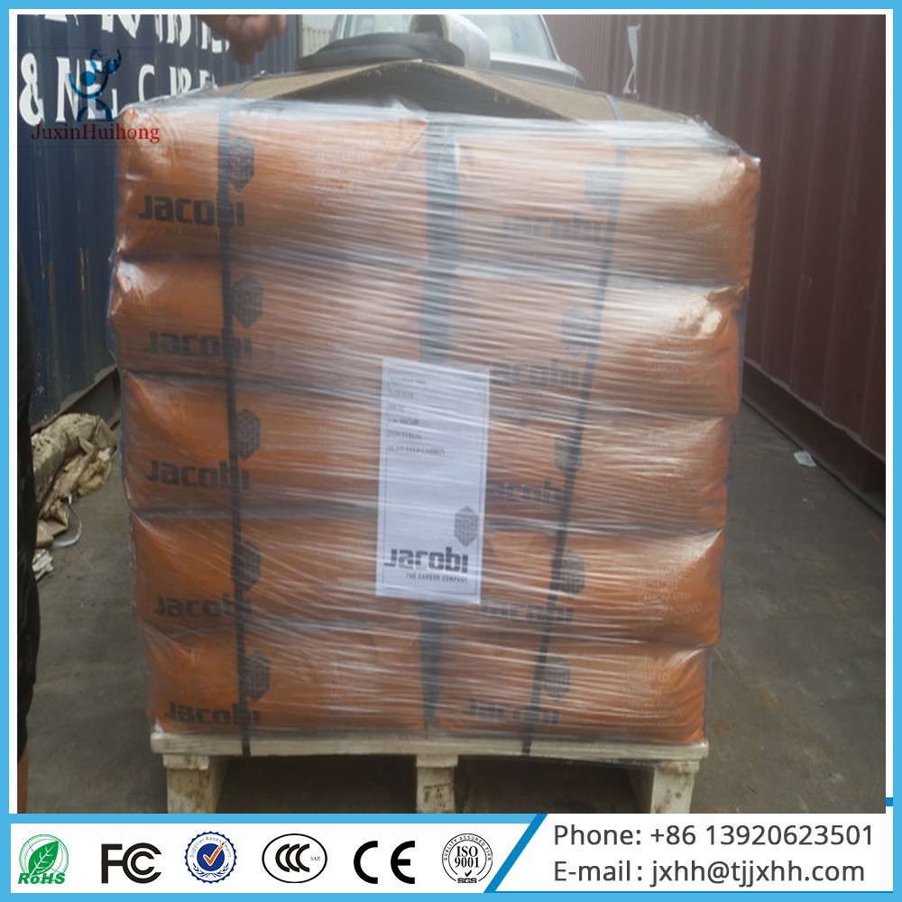 Granular Type and Chemical Auxiliary Agent Jacobi Brand Coal Based Activated Carbon
