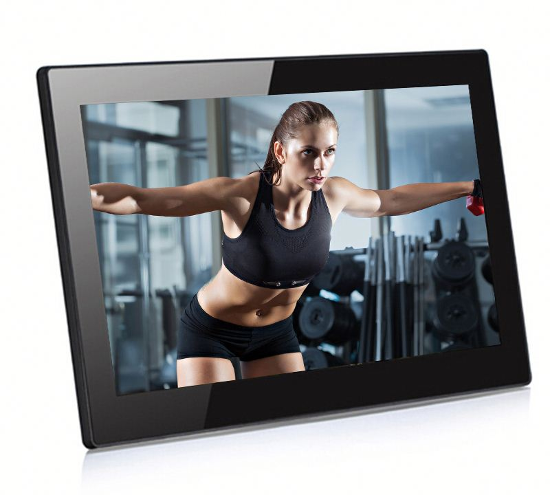 full hd 18.5 inch Android Wifi LCD led digital photo frame with sd card ,usb slot