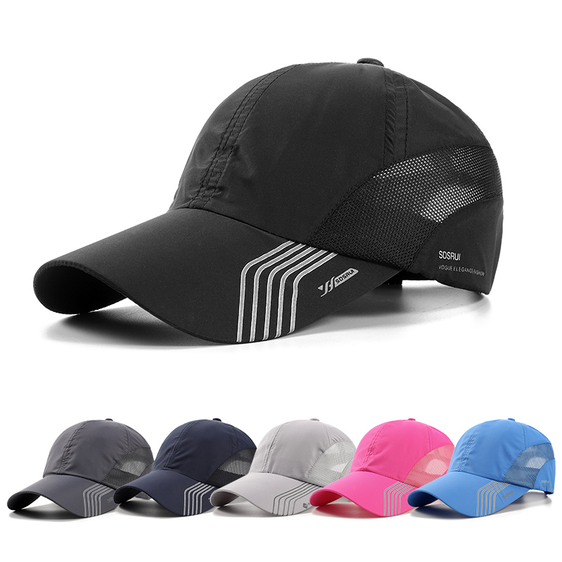 High quality man travel cycling baseball running quick dry dad sports golf cap <strong>hats</strong>