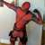 Custom Made Marvel Comics Deadpool Costume Suit Adult Men's Halloween Cosplay Costume