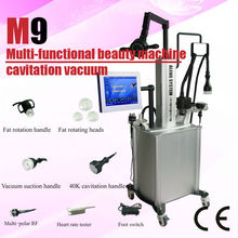 Vacuum cavitation fat removal/5M multipolar RF thermal slimming system/super body sculptor M9