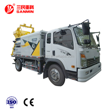 2017 portable Concrete mixing delivery pump Truck Mounted Concrete Pump price A6/HBC50B