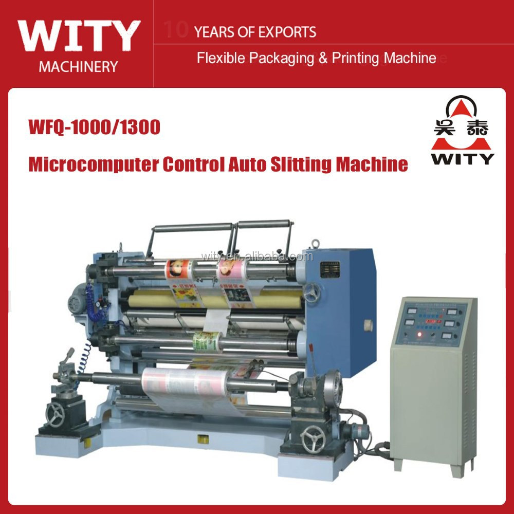 2016 Verical Type Plastic film Slitting Machine
