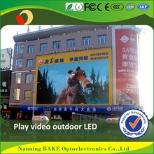 P16 outdoor high brightness advertisement led display led tv matrix