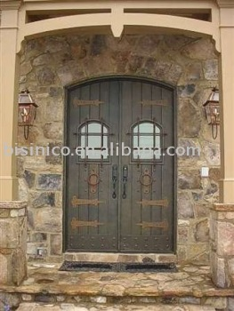 Bisini luxury iron door for villa