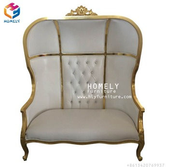 Wholesale Wedding fabric canopy chair HY-K249