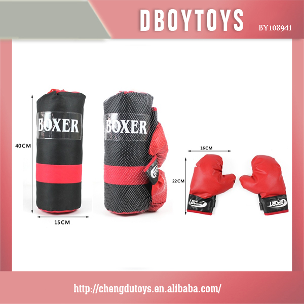 Good boy traing punching bag for muscle man