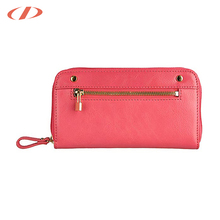 Removable card holder girls leather purse italian ladies leather evening purse