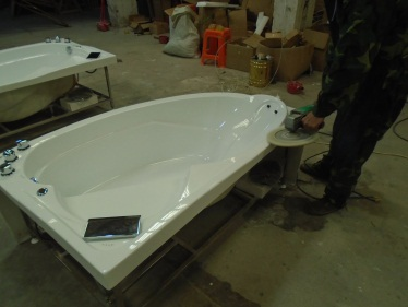 Polishing (Massage Bathtub, Steam Room)