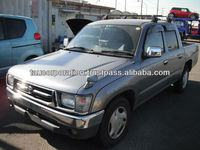 Japanese used toyota hilux double cab sale by export company