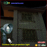 product red and green outdoor christmas laser lights remote control waterproof IP65 Christmas LED projector