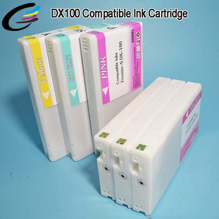 200ML Full Cartridge Refill Kit Fujifilm Frontier DX100 Ink Cartridges