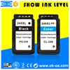 compatible ink cartridge for canon printers pixma ip2820 PG245 CL246 pg245 cl246 245xl 246xl refill printer ink cartridge