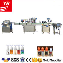 YB-YX2 Automatic 10ml bottle e-liquid filling machine, e-cigarette filling and capping machine