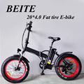 "350W 36V 20"" Foldable/Folding Fat Tire Electric Bicycle, Fat Tire Ebike, Fat Tire Electric Bike"