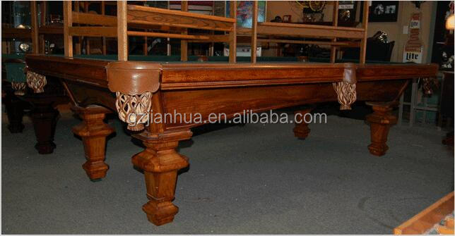 low price antique hand carved wood pool tables snooker table