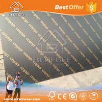 12mm Phenolic Black Film Coated Plywood