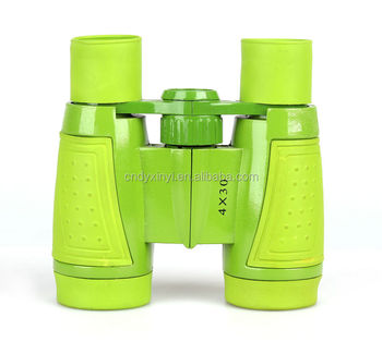 5X30 cheap toy gift small mini clean plastic ABS for children binocular toy telescope