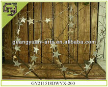 birch bark star garland natural crafts Christmas decors