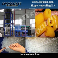 Juicy tube ice maker machine for keeping fresh and cooling in Myanmar