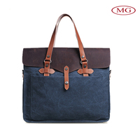 custom-made vintage canvas bag single shoulder handbag wholesale with small moq for man/lady