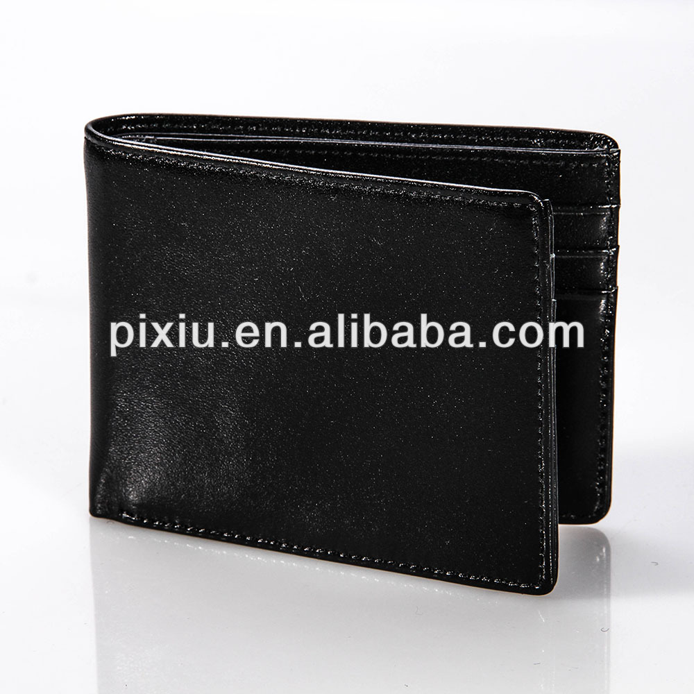 Hot selling real camel leather wallet for men