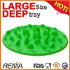 RENJIA Silicone Dog bowl Silicone Pet Bowl Slow Feed Dog Bowl
