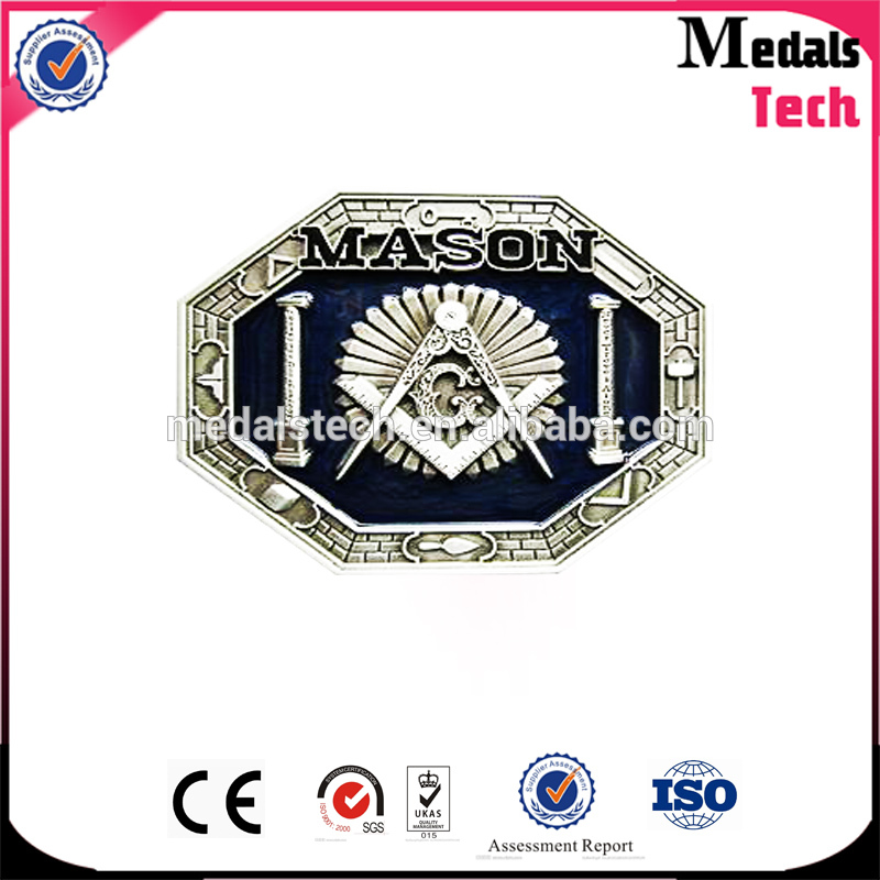 Free sample wholesale high quality cheap soft enamel custom logo metal belt buckles