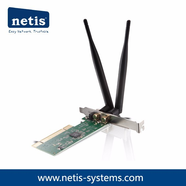 300Mbps Wireless N PCI Adapter, Detachable Antennas