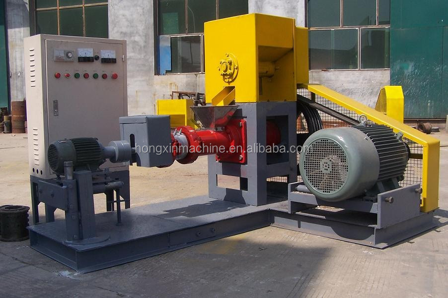High quality and reasonable price animal fish feed pellet extruder mill machine