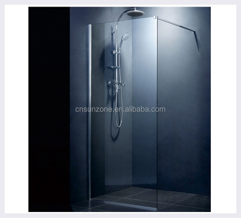 Folding bath shower screen