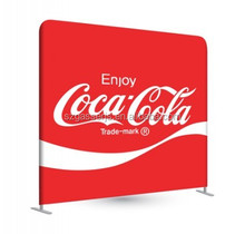 Good quality trade show dye sublimation tension fabric banner display stand