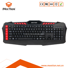 NEW Black Mechanical LED Air Mouse Backlit Gaming Keyboard