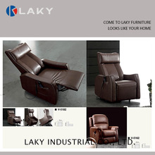 V-5182 Comfortable and high quality leather recliner sofa