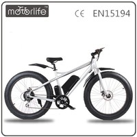 MOTORLIFE/OEM Christmas promotion 36v 500w electric bike price,fat tire ebike,hot sell snow bike