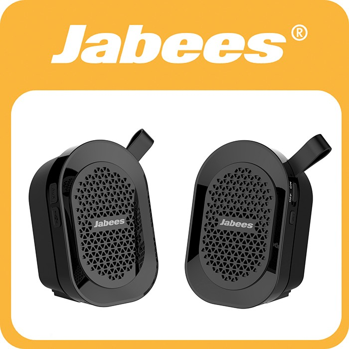 2017 New Gadget Jabees V4.1 Outdoor Stereo Mini Speakers Bluetooth