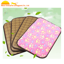 Summer Cool Soft Pet Dog Puppy Cat Kennel Cage Pad Bed Cushion Mat Nest Blankets