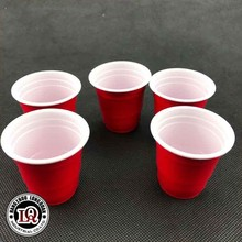55ml Red Plastic PS Portion Cup