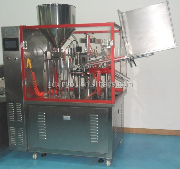 Automatic tube filling machine, sealing packing machine for toothpaste