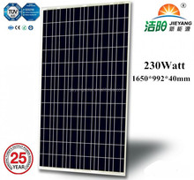 Customized polycrystal solar pv module 230wp solar panel IEC Standard TUV Certificated