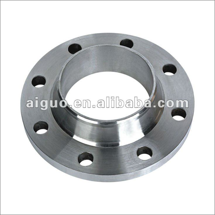 ANSI A105 carbon steel WN pipe flange class 150