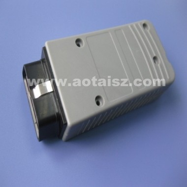 obd2 connector with case obdii enclosure auto diagnostic box