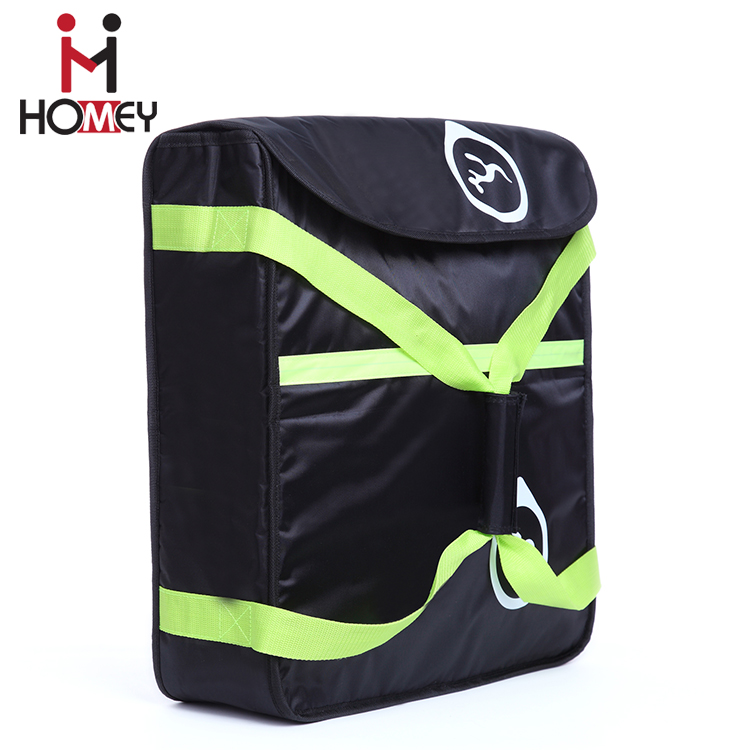 Oem Wholesale Custom Food Delivery cooler Bags non woven insulation Thermal Pizza Bag