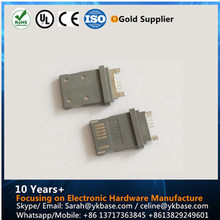 6 pin male plastic connector i5 usb connrctor lock