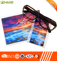 Factory high quality digital printing silk fabric painting designs cleaning cloth